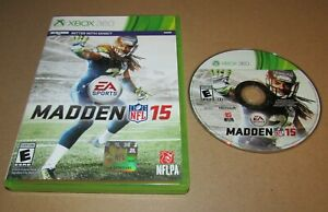 Madden NFL 15 for Xbox 360 Fast Shipping!