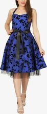 BlackButterfly 'Maisy' Satin Essence 50's Rockabilly Bridesmaid Prom Dress