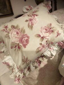 Retired Rare Charlotte Rachel Ashwell Shabby Chic Couture Boudoir Pillow/ Insert