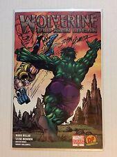 Wolverine 66 DF Var John Romita Sr Signed & Old Man Logan Ken Haeser Sketch Rare