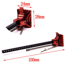 1/10 RC Crawler Car Accessory Full Metal High Lift Jig For SCX10 RC4WD Truck Red