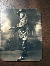 Buffalo Bill Cody With Rifle Rare Pose tintype C237RP