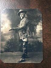 Buffalo Bill Cody With Rifle Rare Pose tintype C237RP