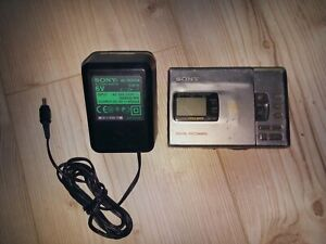 Sony MZ-R30 MiniDisc Recorder - MD Walkman - Digital Recording mit Trafo AC-MZ60