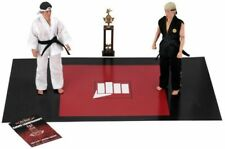 "Karate Kid Daniel LaRusso 1984 Tournament 2-Pack Clothed 8"" Action Figur NECA"