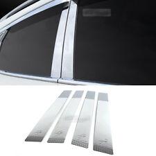 Chrome B Pillar Garnish Molding Trim K852 for HYUNDAI 11-17 Accent Verna Solaris