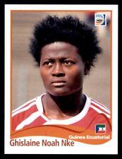 Panini Women's World Cup 2011 - Ghislaine Noah Nke Equatorial Guinea No. 314