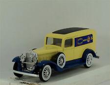 "Solido Cadillac Commerciale #4060 in light cream/blue ""Cadbury's Cocoa Essence""."