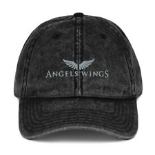 Vintage Cotton Twill Cap AWT - Angels Wings Transport
