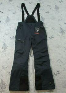 NWT Killtec Tagamos Tech Series Men's Ski Pants Bibs Detachable Straps Gray M