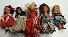 Asst. Lot Of 5 Vintage Storybook Nancy Ann Dolls #3