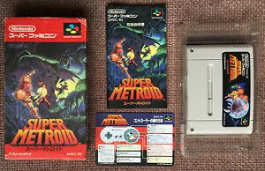 Super Metroid Super Famicom complete (JAP) Nintendo