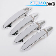 4Pcs Chrome Door Handle Cover Trim Fits Ford Fiesta Ecosport 2013-2019
