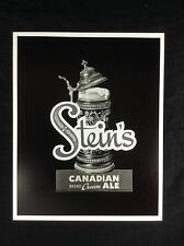 Stein's Beer Canadian Brand Ale Photo Print Buffalo NY