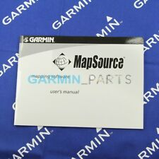 Used user's manual for Garmin MapSource mapping software 190-00417-20 genuine
