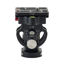 SIRUI L-10 L -Series Monopod Tilt Head  > 33lb Capacity Quick Release