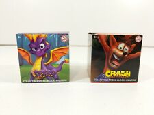 Rare Exclusive Spyro The Dragon Collectible Micro Blocks Figurine