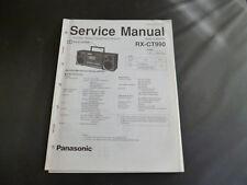 Original Service Manual Panasonic RX-CT980