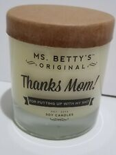 Mrs. Betty's Original Soy Candle Thanks Mom (Lavender & Cucumber)