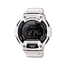 Casio W-S220C-7 Tough Solar 120 Lap Memory Led Light White Mens Watch W-S220