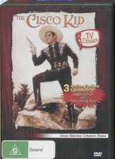 THE CISCO KID - TV CLASSCS - 3 ACTION PACKED EPISODES -  DVD