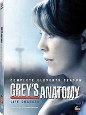 New Grey's Anatomy: Complete Eleventh Season 11 (DVD, 2015, 6-Disc Set) Sealed