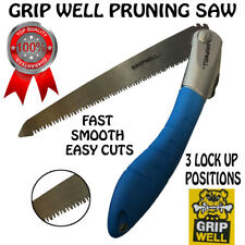 Folding pruning Hand saw Tree Branch Cutter Foldable Saw Gardening Tool gripwell