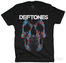 Deftones- Minerva Rose Skull Apparel T-Shirt XL - Black