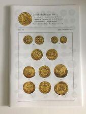 JEAN ELSEN AUCTION CATALOG BELGIUM ANCIENT WORLD COINS LISTE 273 JULY-SEP 2015