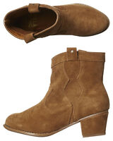 Penny Lane Tan Leather Boots Women/'s Billabong NWT RRP $129.99. Size 7-9