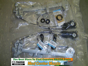 Mazda Miata Manual Window Kit 1990 1991 1992 1993 1994 1995 1996 1997