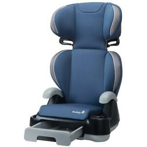 Safety 1st Store 'n Go Sport Booster Car Seat, Recline Seat, Removable Back