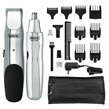 Wahl Model 5622Groomsman Rechargeable Beard, Mustache, Hair & Nose Hair Trimmer