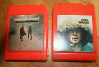 Lot 2 8 Track Tape Paul Simon Simon & Art Garfunkel Sounds of Silence Tested