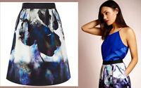 ex Coast Skirt - Coast Salia Floral Print A-Line Skirt