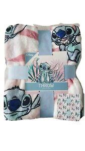 Primark Lilo and Stitch Throw Blanket Soft Fleece BNWT 150x120cm GIFT
