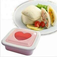 Love Heart Shape Sandwich Bread Toast Maker Mould Cutter for Valentines day