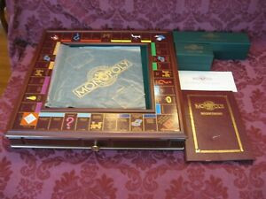 Franklin Mint 1991 Collectors Edition Monopoly Game - Complete and Unplayed