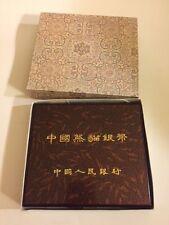China 1995/96 12 oz 100 Yuan Silver Proof Panda Original Wood Box (no coin)