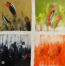 Burkhard Odau (XX /XXI)  Gemälde: - DER TOD EINES VOGELS -