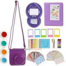 7 in 1 Instant Film Camera Accessories Bundles for Fujifilm Instax Mini 8 Purple