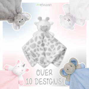 Baby Boys and Girls Teddy Bear Comforter Sleep Aid Snuggle Blanket Soft Cot Toy