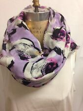 Kate Spade New York romantic spring floral Scarf 48 X 48 Authentic $198 NWT