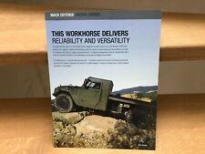 Mack Defense Sherpa Carrier light tactical vehicle brochure