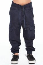 Boys Big Modern Fit Flat Front Stretch Twill Pant in Husky Sizes U.S Polo Assn
