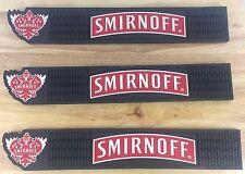 SMIRNOFF Vodka Rubber Bar Mat - SMIRNOFF Drink Mat - Barware Home Bar