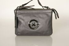 MIMCO SUPERNATURAL COUCH CHARCOAL Leather Grey Gunmetal BNWT RRP$199 Hip Bag