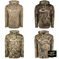 DRAKE WATERFOWL SYSTEMS CAMO PERFORMANCE HOODIE PULLOVER SWEATSHIRT