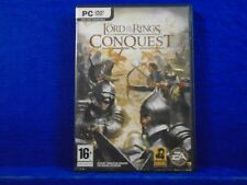 pc LORD OF THE RINGS CONQUEST Game Choose To Play As Good Or Evil! PC DVD-ROM