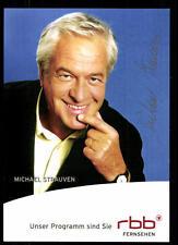 Michael Strauven RBB Autogrammkarte Original Signiert ## BC 52396